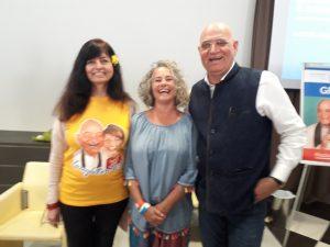 Beatrice Gori con Madan Kataria - Yoga della risata