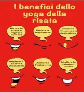 benefici yoga della risata (San Giuliano Terme - Pisa)