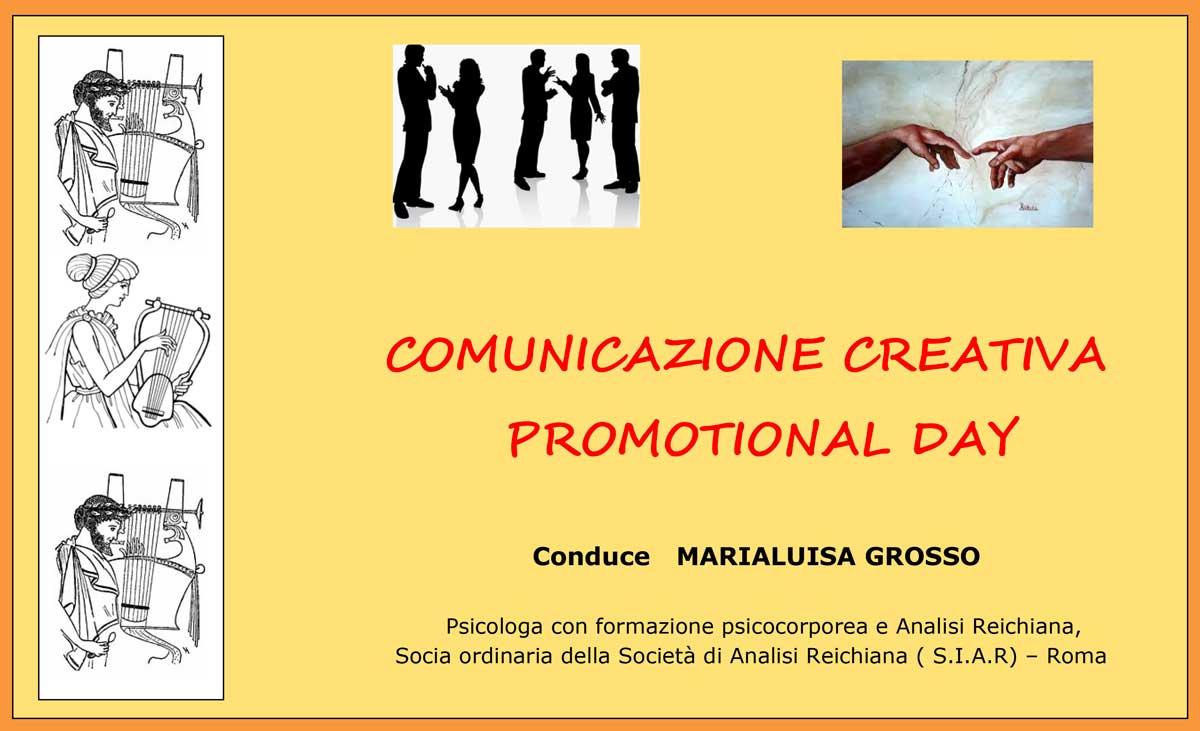 Comunicazione Creativa con Marialuisa Grosso a San Giuliano - Pisa
