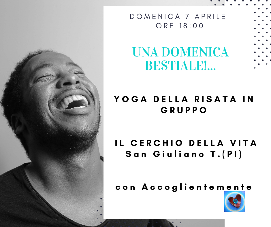 Yoga della Risata - San Giuliano Terme (Pisa)