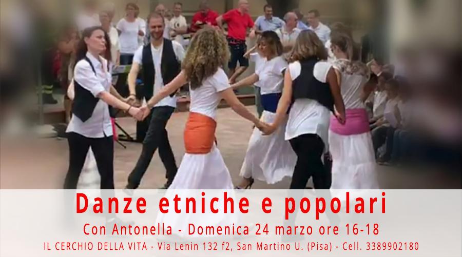 Danze Etniche e Popolari - Cerchio della Vita - San Giuliano Terme, Pisa
