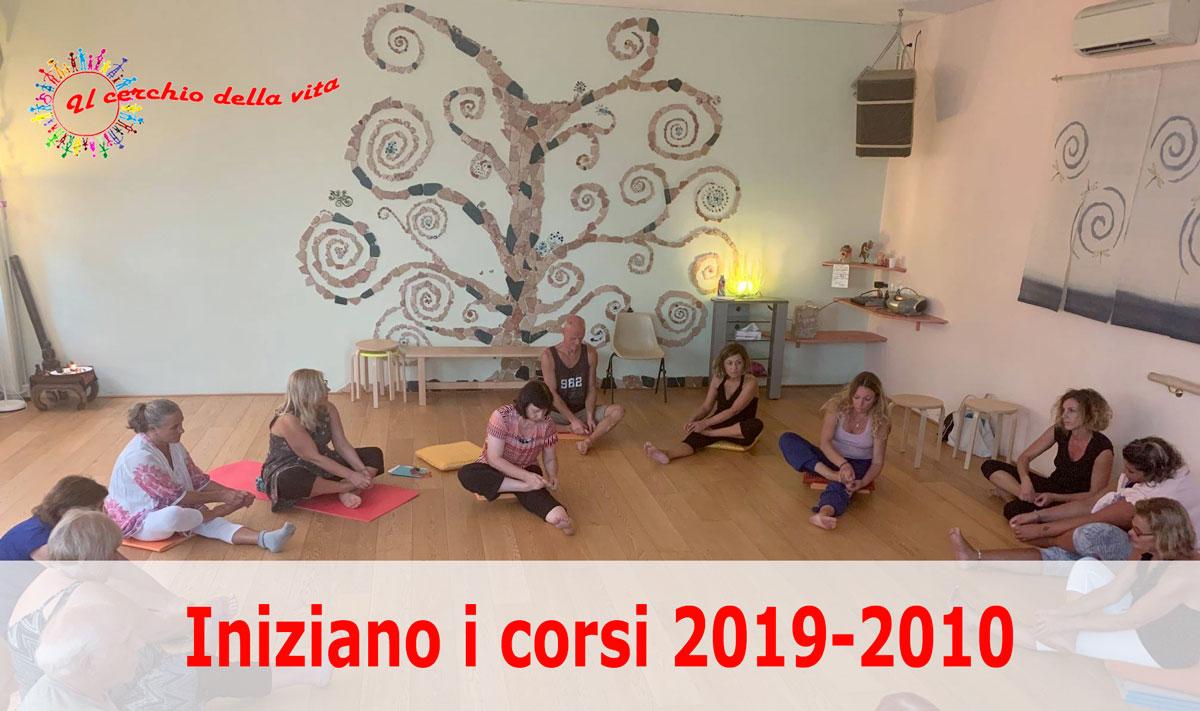Iniziano i corsi 2019-2010